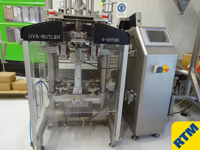 Used BAGGING MACHINE, vertical form fill seal