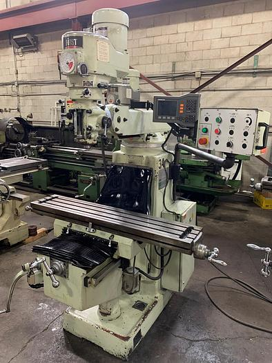 """Used 10"""" x 50"""", FIRST, 2012, MODEL LC-185VS-B, VERTICAL MILLING MACHINE"""