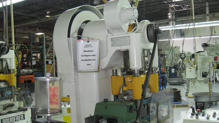 Used 30 TON BRUDERER 3-POST HIGH SPEED PRESS