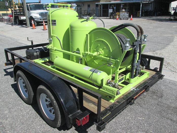 Used Ansul Twin Agent Suppression System And Trailer, ARFF Skid Unit