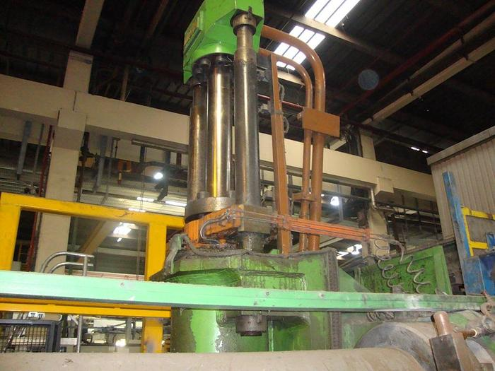 3000 mton Clecim Aluminum Extrusion Profile Line: EX-486
