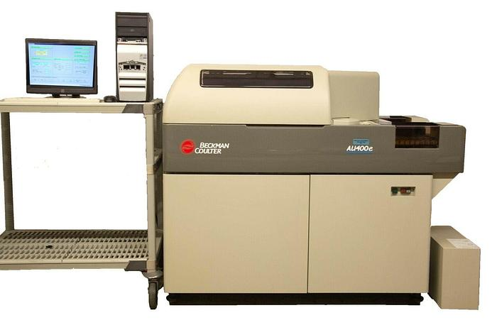 Used Beckman Coulter (Olympus) AU400E Chemistry Analyzer w/ Computer + Pump (7321) R