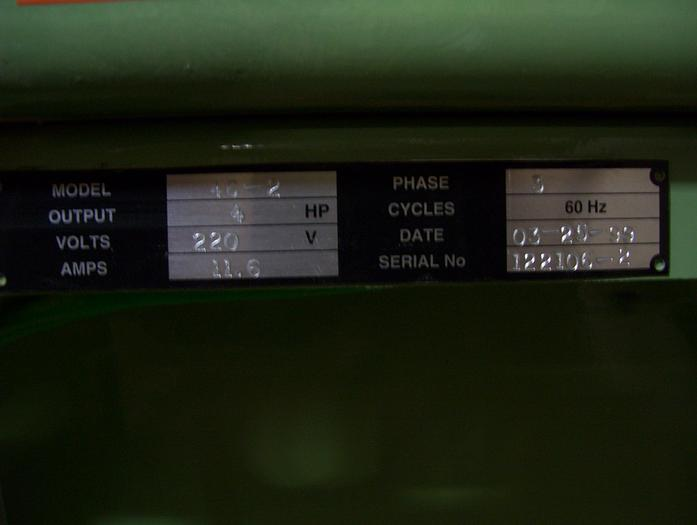 Conquest Model 46-2 Line Boring Machine