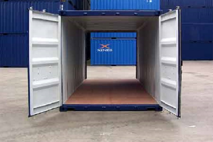 """20 'Container 8'6 """"Double Doors"""