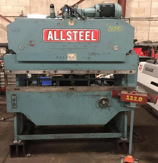 Used 35 Ton X 6' ALLSTEEL HYDRAULIC PRESS BRAKE