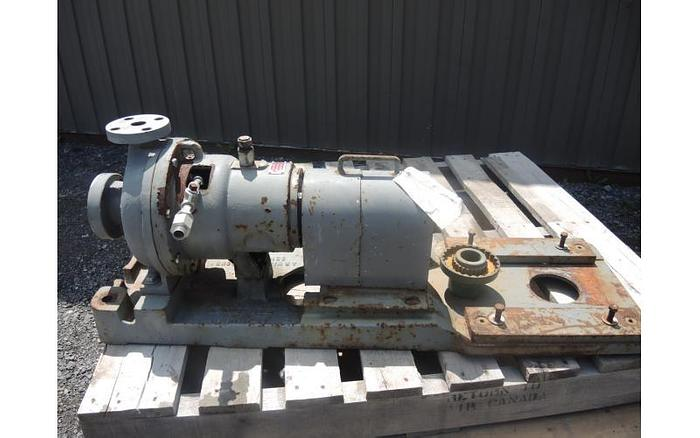 "USED CENTRIFUGAL PUMP, 1.5"" X 1"" INLET & OUTLET, 316 STAINLESS STEEL"