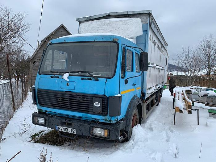 Gebruikt 1988 MERCEDES BENZ 1635 chassis 4x2  V8