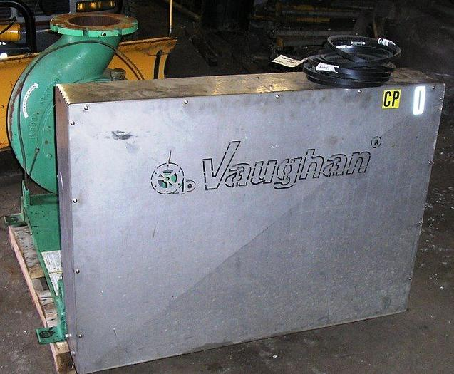 60 HP. Used Vaughn Belt Driven Pump Model #H8M10: