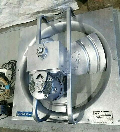 Used American Blower Ventura 36 Inch Industrial Attic Fan 1/3 HP TESTED Runs Perfect!
