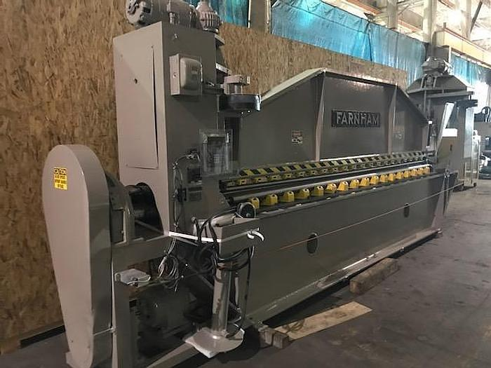 Used 15' Farnham Roll Forming Machine