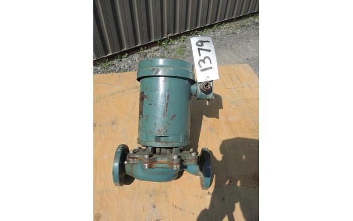 "USED CENTRIFUGAL PUMP, 1.5"" X 1.5"" INLET & OUTLET, STAINLESS STEEL"
