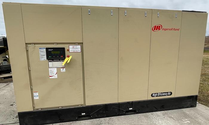 Used 300 HP INGERSOLL RAND MODEL SSR-XFE300-2S SCREW COMPRESSOR NEW NEVER USED