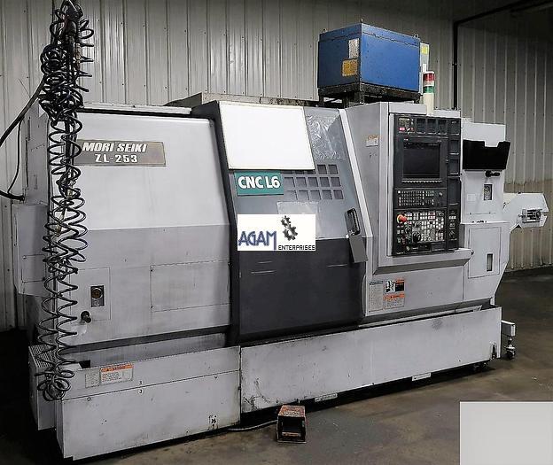 Used Mori Seiki ZL253 CNC TurnMill Center