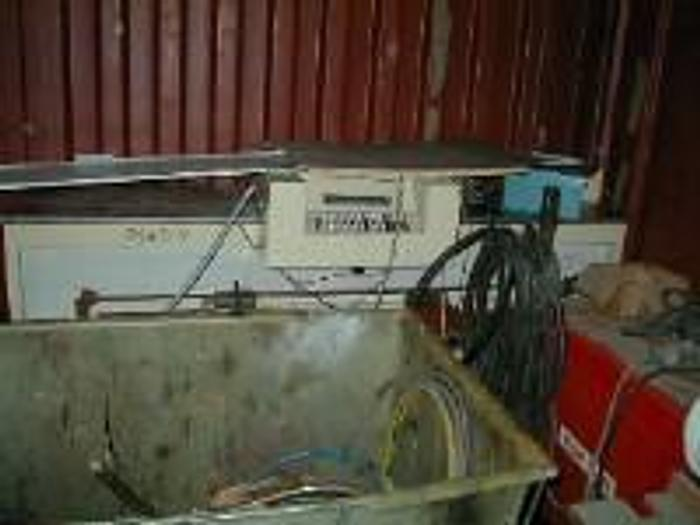 Used Miller Mfg. Ink mixing system.