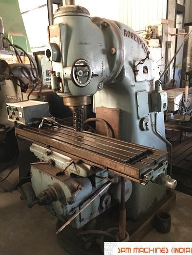 Used Rosenberg Vertical Milling