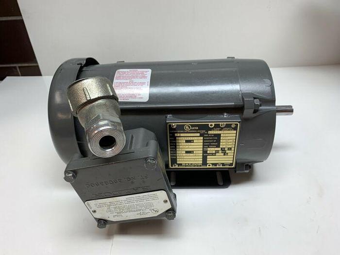 Used Baldor IDXM7006 AC Motor 1/2HP 2700RPM 56C Frame 230/460V Hazardous Locations