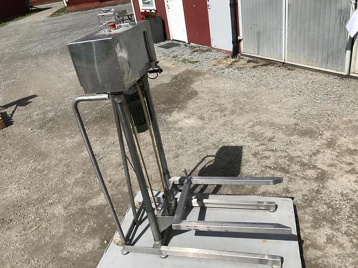 Använd Backlyft 98cm automatisk höjning