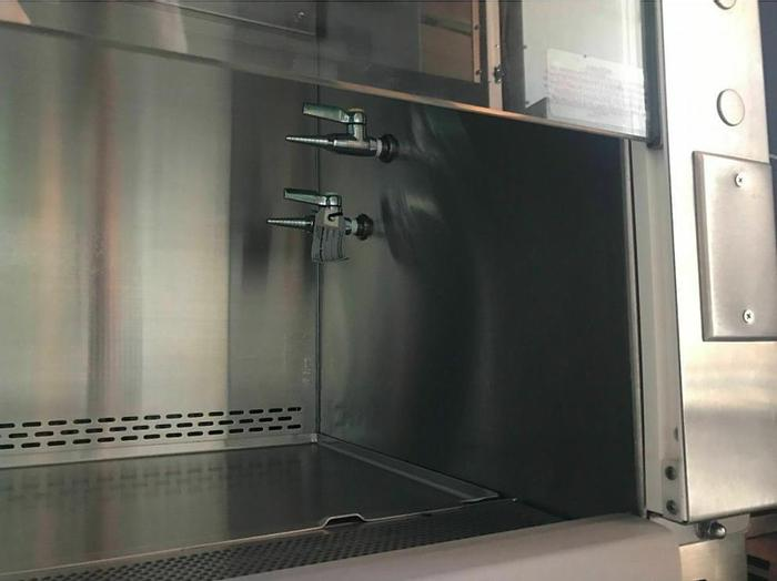 Used Nuaire NU-430-600 B2 Biosafety Cabinet, New HEPA filters and Stand