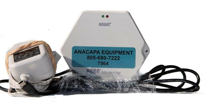 Used Onset ZW-RCVR HOBO Data Receiver USED with Adapter and Cable (7564) W