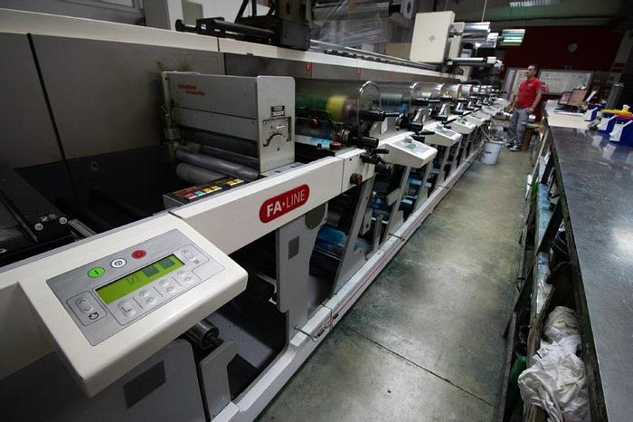 Used Nilpeter  FA 4250