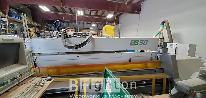 Used 2000 Selco EB90 Used Beam Saw 10' x 10' with 3 air tables
