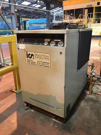 Used 1998 ICS (Industrial Cooling Systems) TAE051 Single Fan Water Chiller Unit with Plate Heat Echanger