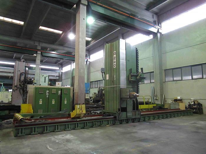 Usata FRESATRICE A MONTANTE MOBILE MECOF M 260/A CNC
