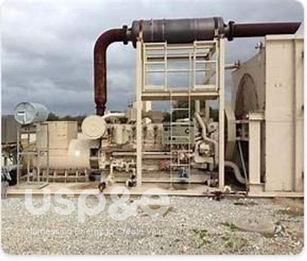 Used 1 MW 2008 New Caterpillar G3516 Natural Gas Generator Sets