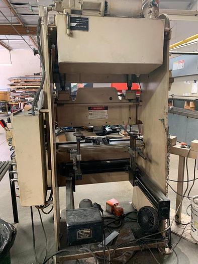 "1995 20 Ton x 52"" Wysong CNC Hydra-Mechanical Press Brake"