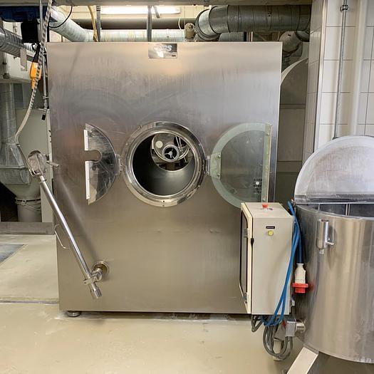 Gebraucht gebr. Zucker-Drageeanlage GS-COATING-SYSTEM Modell PRA/S400, bestehend aus