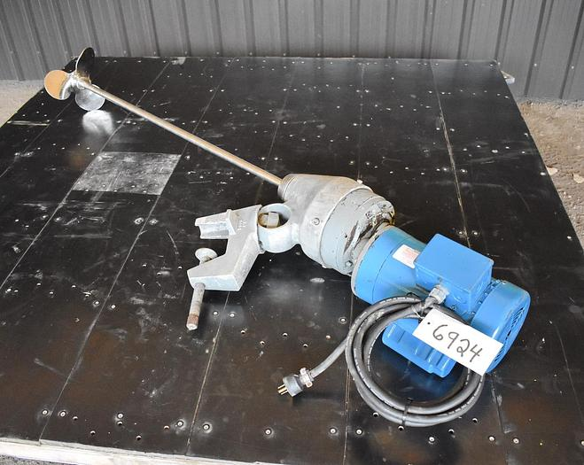 Used USED DOERR CLAMP-ON MIXER, 2 HP