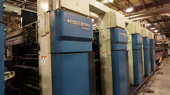 Used 1997 Heidelberg M1000BE Printing Units QTY (5)