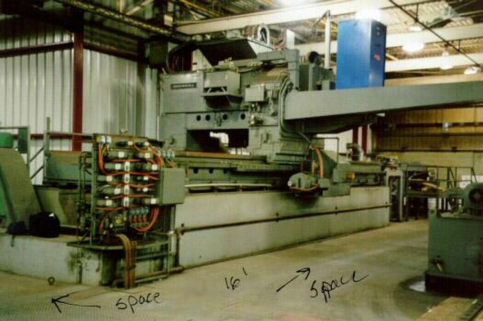 "Used 52"" Ingersoll Copper Slab Scalper: SC-020"