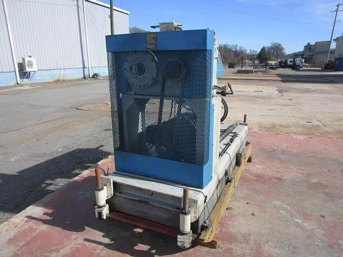 """Used 2.5"""" HPM 24:1 L/D air cooled extruder with 40 hp"""