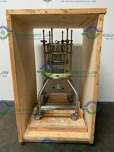 Used Amersham Pharmacia Chromaflow Chromatography Column 37.7 Liter Capacity 40CM