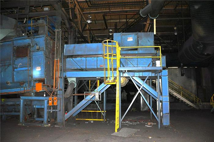 2000 WHEELABRATOR/BMD ROCKER BARREL CONTINUOUS SHOT BLAST