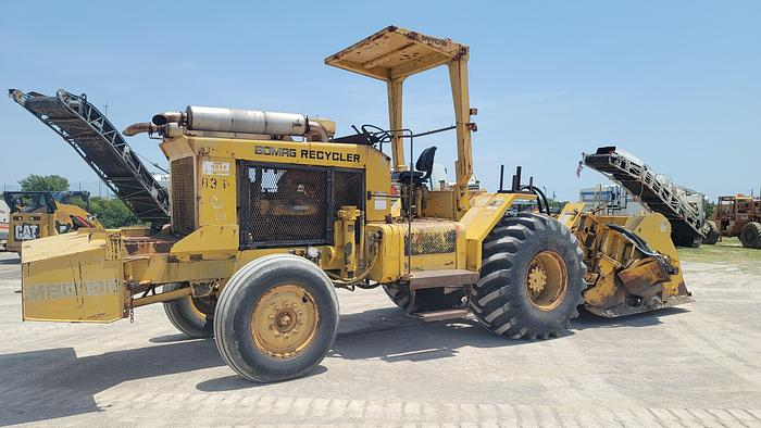 Used 1987 BOMAG MPH100R STABILIZER