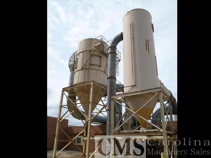 Used Pneumafil & Dixie Dust Collection System