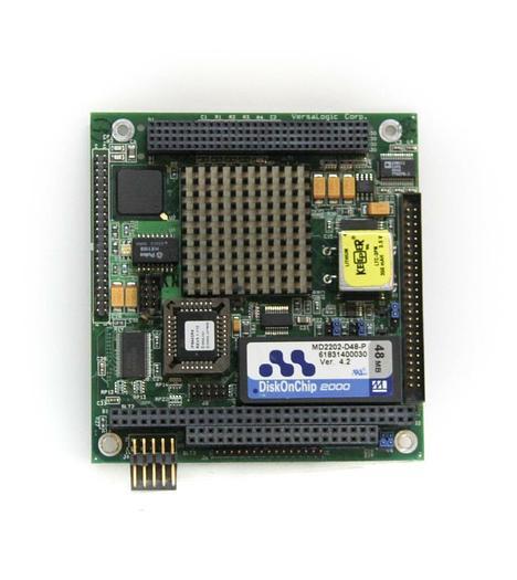 Used VersaLogic Corp. P-ECPU3R4 B EPM-CPU-3p Rev 4.03 DiskOnChip MD2202-D48-P (5411)