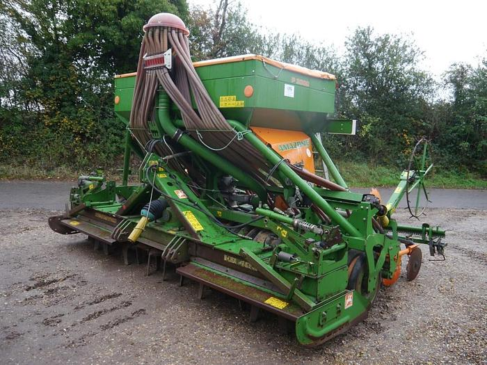 Used Amazone KW403 Combination Drill