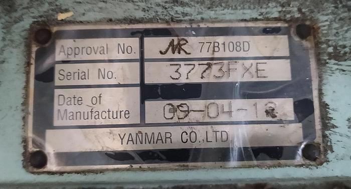 Yanmar 6EY18ALW unused engine with certificates.
