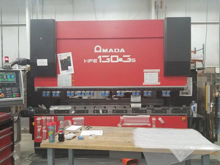 2007 143 Ton Amada HFE 130-3S CNC Press Brake