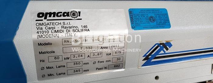 2011 Omga RN450 Radial Arm Saw