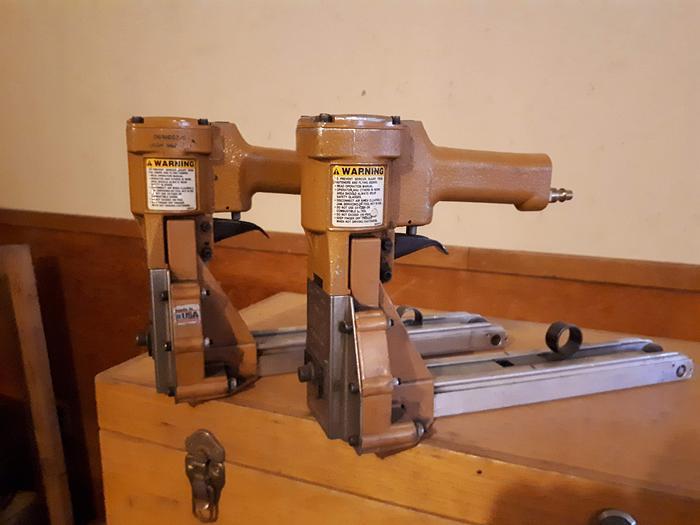 Used Bostitch D60 Pneumatic Carton Stapler