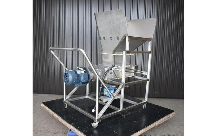 USED ATLANTIC COAST CRUSHERS / LUMP BREAKER, FLOW SMASHER MODEL 1218, SANITARY