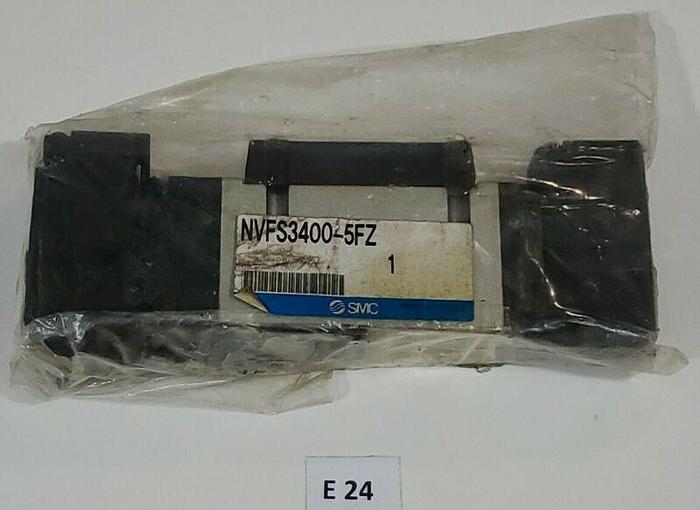 *NEW IN BAG* SMC NVFS3400-5FZ Solenoid Pneumatic Valve + Warranty!