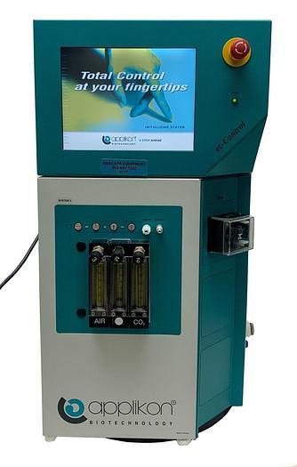 Used Applikon Biotechnology Z310110010 eZ-Control Bioreactor Control System (6717)W
