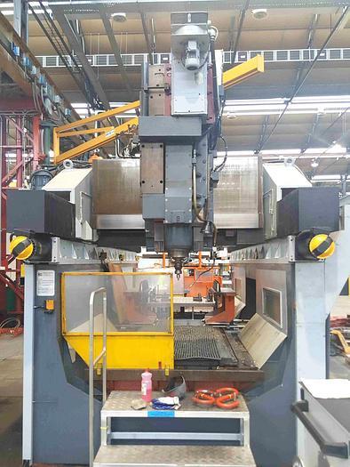 Usata FRESATRICE A PORTALE MOBILE DUPLO STANDARD CTF 4000 CNC