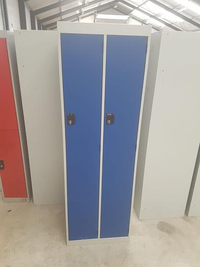 Double Lockers - red & blue