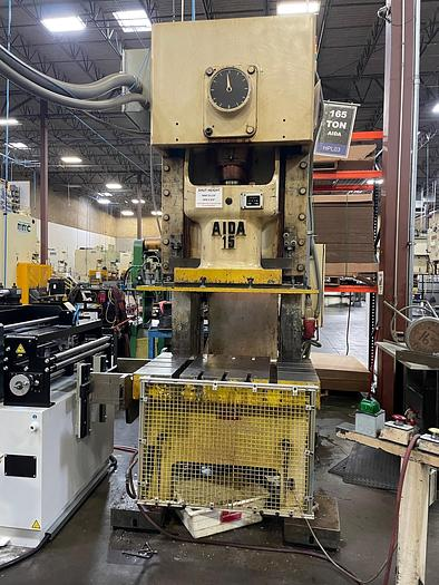 AIDA NC1-15(2) Gap Frame Press